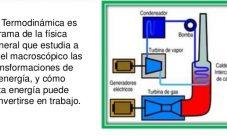 ¿De qué se encarga la termodinámica?