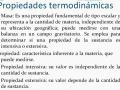 Propiedades de la termodinámica