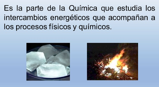 ¿Qué es termodinámica en química?